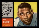 1962 Topps #46  Don Bishop  Front Thumbnail