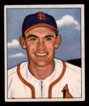 1950 Bowman #209 CPR Johnny Lindell  Front Thumbnail