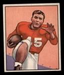 1950 Bowman #105  Eddie Price  Front Thumbnail