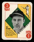 1951 Topps Red Back #37  Wes Westrum  Front Thumbnail