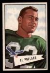 1952 Bowman Small #34  Al Pollard  Front Thumbnail