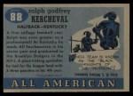 1955 Topps #88  Ralph Kercheval  Back Thumbnail