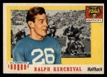 1955 Topps #88  Ralph Kercheval  Front Thumbnail