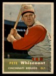 1957 Topps #373  Pete Whisenant  Front Thumbnail