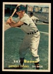 1957 Topps #102  Ray Boone  Front Thumbnail