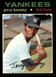 1971 Topps #572  Jerry Kenney  Front Thumbnail