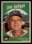 1959 Topps #29  Jim Bolger  Front Thumbnail