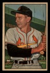 1952 Bowman #30  Red Schoendienst  Front Thumbnail