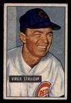 1951 Bowman #108  Virgil Stallcup  Front Thumbnail