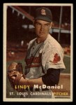 1957 Topps #79  Lindy McDaniel  Front Thumbnail