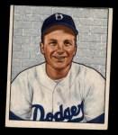 1950 Bowman #222 CPR Bob Morgan  Front Thumbnail