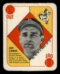 1951 Topps Red Back #45  Andy Seminick  Front Thumbnail