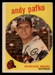 1959 Topps #27  Andy Pafko  Front Thumbnail