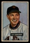 1951 Bowman #233  Leo Durocher  Front Thumbnail