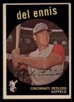 1959 Topps #255  Del Ennis  Front Thumbnail