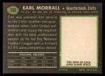 1969 Topps #250  Earl Morrall  Back Thumbnail