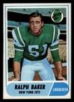 1968 Topps #38  Ralph Baker  Front Thumbnail