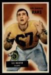 1955 Bowman #82  Les Richter  Front Thumbnail