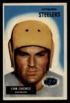 1955 Bowman #54  Lynn Chandnois  Front Thumbnail