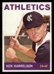 1964 Topps #419  Ken Harrelson  Front Thumbnail