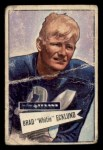 1952 Bowman Small #35  Brad Whitie Ecklund  Front Thumbnail