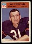1966 Philadelphia #33  Joe Fortunato  Front Thumbnail