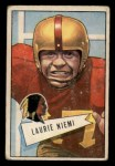1952 Bowman Small #6  Laurie Niemi  Front Thumbnail