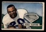 1951 Bowman #8  George Taliaferro  Front Thumbnail