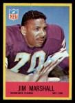 1967 Philadelphia #103  Jim Marshall  Front Thumbnail