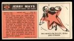1965 Topps #106  Jerry Mays  Back Thumbnail