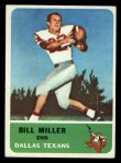 1962 Fleer #28  Bill Miller  Front Thumbnail