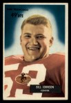 1955 Bowman #46  Billy Johnson  Front Thumbnail