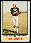 1974 Topps #490  Fred Biletnikoff  Front Thumbnail