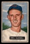 1951 Bowman #24  Ewell Blackwell  Front Thumbnail
