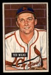 1951 Bowman #193  Ted Wilks  Front Thumbnail