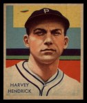 1935 Diamond Stars #41  Harvey Hendrick   Front Thumbnail