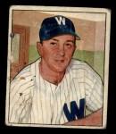 1950 Bowman #52  Sam Mele  Front Thumbnail