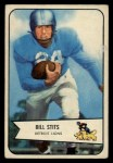 1954 Bowman #5  Bill Stits  Front Thumbnail