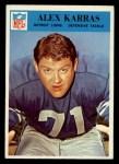 1966 Philadelphia #69  Alex Karras  Front Thumbnail