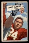 1952 Bowman Small #69  James Hammond  Front Thumbnail
