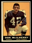 1961 Topps #21  Don Mcllhenny  Front Thumbnail