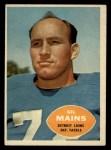 1960 Topps #49  Gil Mains  Front Thumbnail