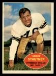 1960 Topps #101  Ernie Stautner  Front Thumbnail