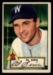 1952 Topps #93  Al Sima  Front Thumbnail