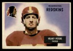 1955 Bowman #17  Volney Peters  Front Thumbnail