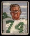 1950 Bowman #61  Walter Barnes  Front Thumbnail