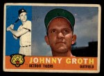 1960 Topps #171  Johnny Groth  Front Thumbnail