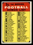 1968 Topps #55   Checklist Front Thumbnail