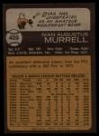 1973 Topps #409  Ivan Murrell  Back Thumbnail