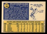 1970 Topps #386  Bill Dillman  Back Thumbnail